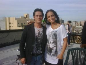 Alejandro Sanz y Alicia Keys